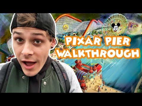 Pixar Pier Walkthrough