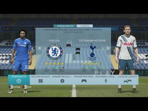 Chelsea - Tottenham [FIFA 16] | CPU Vs. CPU