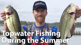 Webinar: Topwater Fishing During the Summer