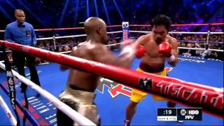 Mayweather vs Pacquiao Highlights