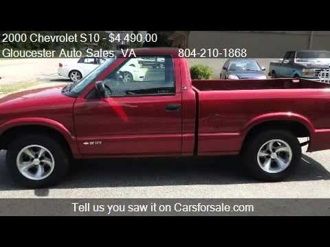 2000 chevy s10 4x4 value
