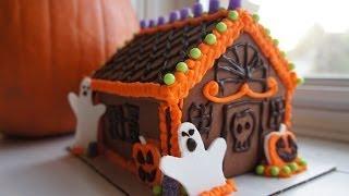 Easy Halloween Gingerbread House Kit - Whatcha Eating? #111