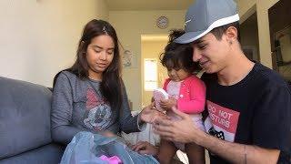 Comprando roupinhas para a nossa filha