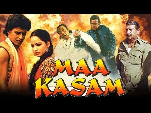 Maa Kasam (1999) Full Hindi Movie   Mithun Chakraborty, Mink Singh, Gulshan Grover
