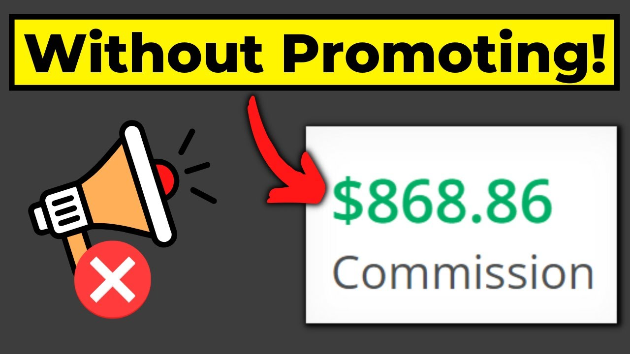 Make Money With Affiliate Marketing Without Promoting ???
