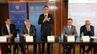 Konferencja w sprawie budowy trzeciego mostu w Ostrołęce