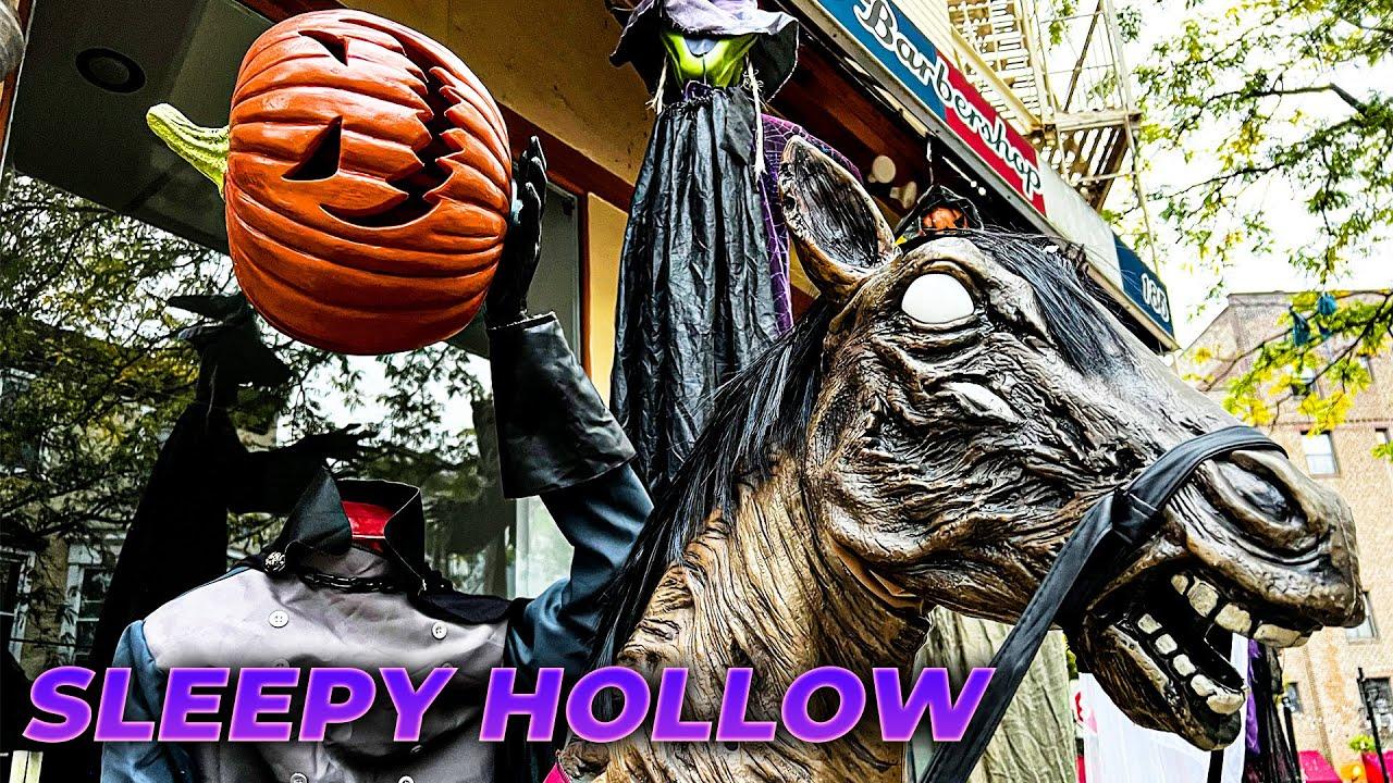 New York LIVE Exploring Sleepy Hollow u0026 Tarrytown for Halloween October 24 2021