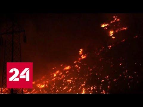 """Погода 24"": Европа объята лесными пожарами"