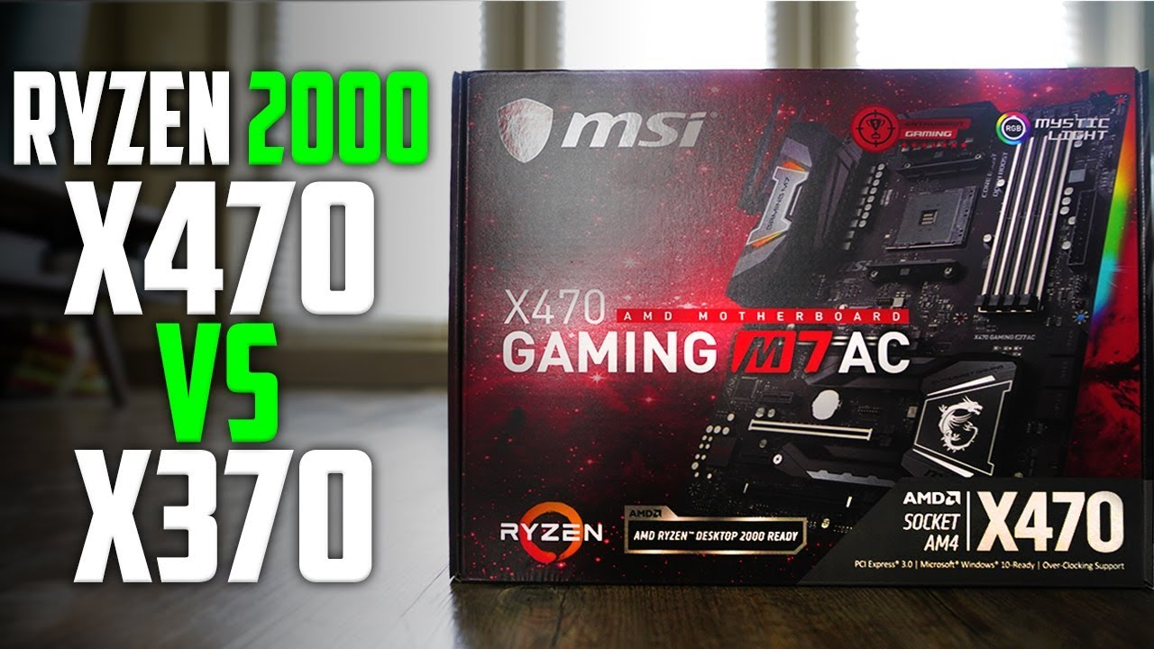 ✔️ X370 Vs X470 For AMD Ryzen 2600/2600x/2700/2700x - Do You Need An X470  Motherboard?