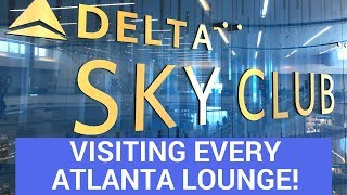Which Is The Best Airline Lounge in Atlanta?