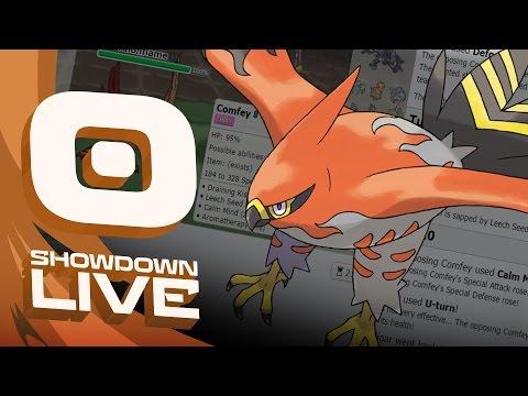 """TALONFLAME'S RETURN"" Pokemon Sun & Moon! RU Showdown Live w/PokeaimMD!"