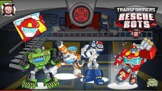 Transformers Rescue Bots: Hero Adventures #236 | 4 RESCUE BOTS rescue the civilians of Griffin Rock!