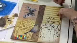 Stencil OPA - 23/04/15 - Mayumi Takushi - Pássaro Azul