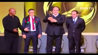 TOLOnews 14 January 2014 Afghanistan Wins 2013 FIFA Fair Play Award