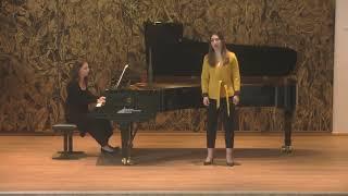F. Schubert - Am Bach im Frühlinge D.361 (Céline Akçağ, Rebeka Stojkoska)