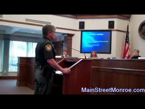 Warren County Sheriff Larry Simms Gives 2011 Crime Report