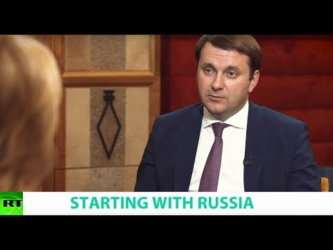 STARTING WITH RUSSIA, Ft. Maxim Oreshkin, Russian Minister of Economic Development