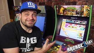 TMNT Arcade1Up REVIEW - TURTLE POWER!