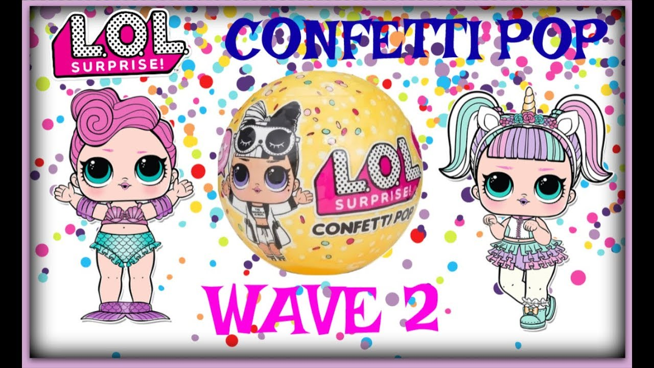 Opening L O L Surprise Confetti Pop Series 3 Wave 2 Unicorn