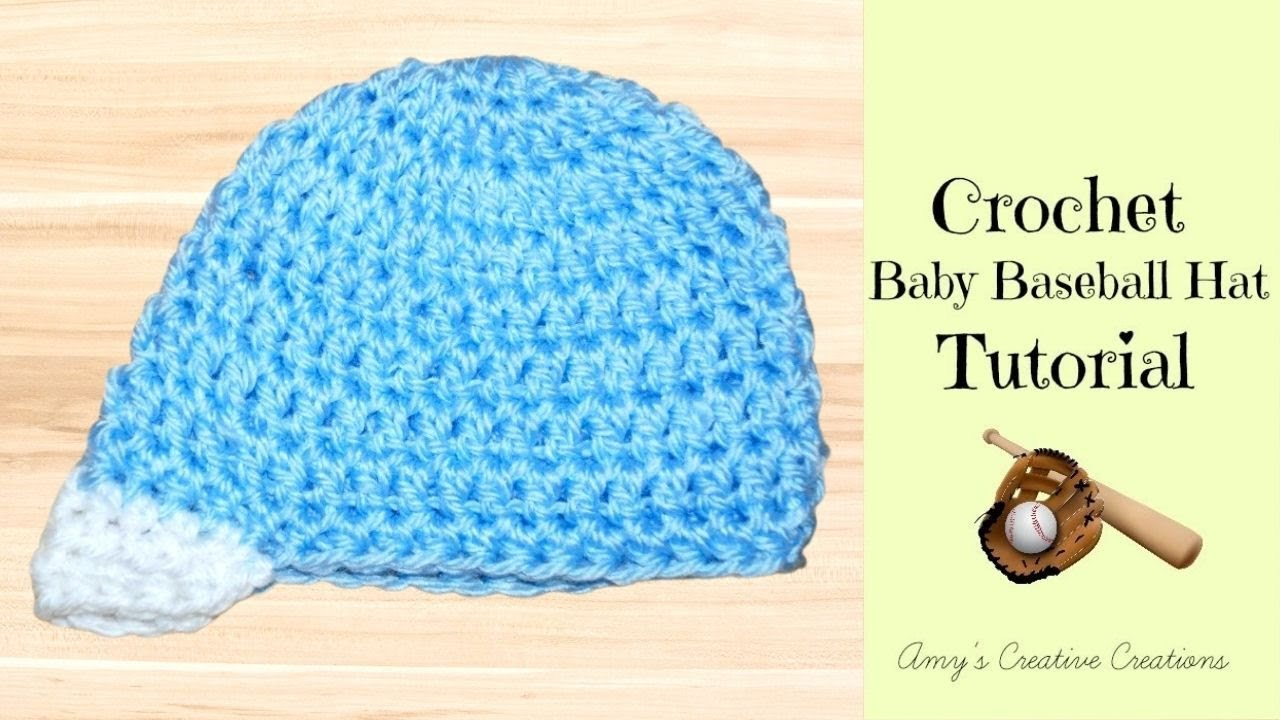 Crochet baby baseball hat tutorial crochet jewel youtube crochet baby baseball hat tutorial crochet jewel bankloansurffo Gallery
