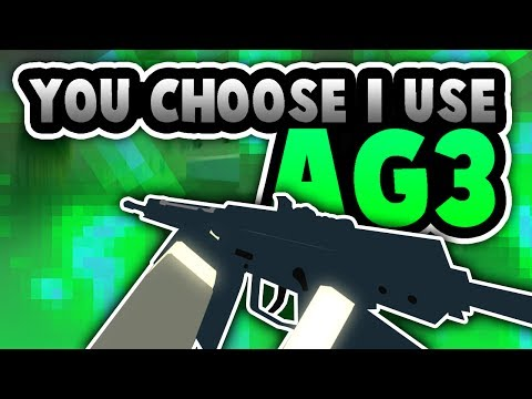 Phantom Forces - You Choose I Use (AG-3) THIS GUN IS ACTUALLY AMAZING!!