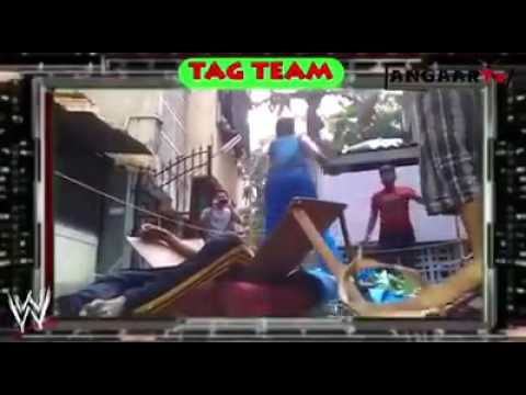 WWE Fight @ Local Place In India
