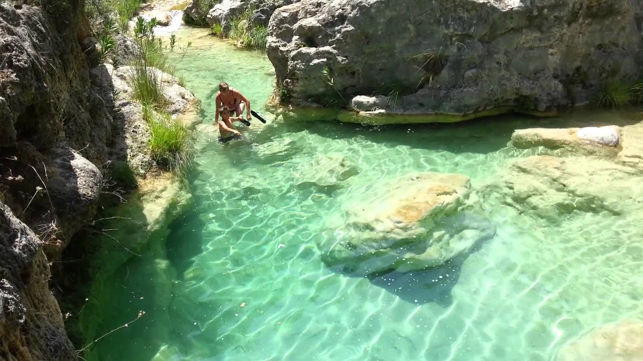 Piscinas Naturales Burgos Lagos De Quesa Youtube