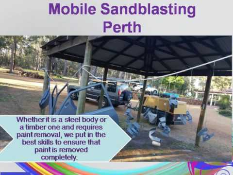 The Best Equipment Used for Mobile Sandblasting in Perth