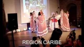 Video BAILES TIPICOS DE COLOMBIA SUS 5 REGIONES download MP3, 3GP, MP4, WEBM, AVI, FLV Agustus 2018