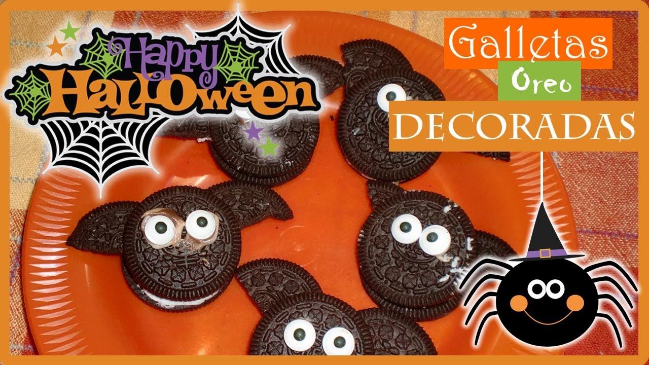 Galletas Oreo Decoradas Para Halloween Receta Fácil Para Niños