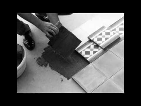 posa e trattamento piastrelle di cemento cimenterie de la tour youtube. Black Bedroom Furniture Sets. Home Design Ideas