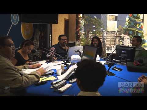 Christian Cervantes y Santo Bungee - Entrevista en Buenos Días Con López Díaz, Diciembre 2015.
