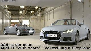 2018 Audi TT - Audi TTS - 20th Years Edition - Sitzprobe Vorstellung Voice over Cars News