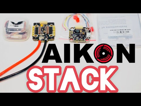 Aikon 20x20 6S stack drone power system