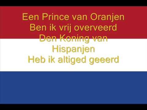 Hymne National des Pays Bas