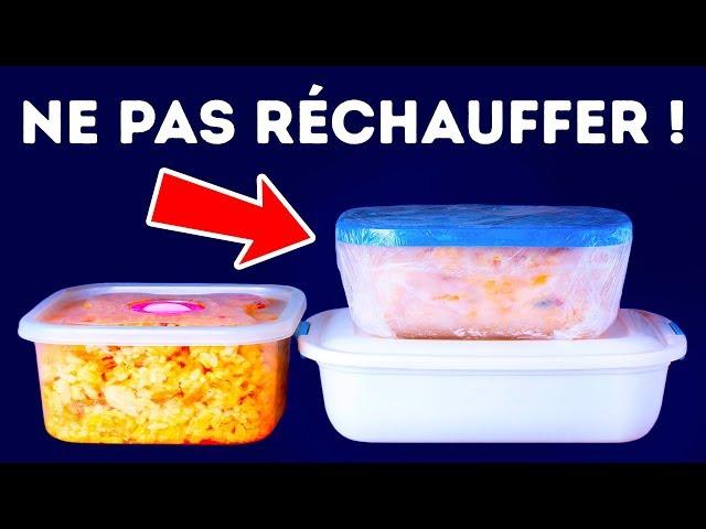 10 Aliments Qu'il ne Faut Réchauffer Sous Aucun Prétexte