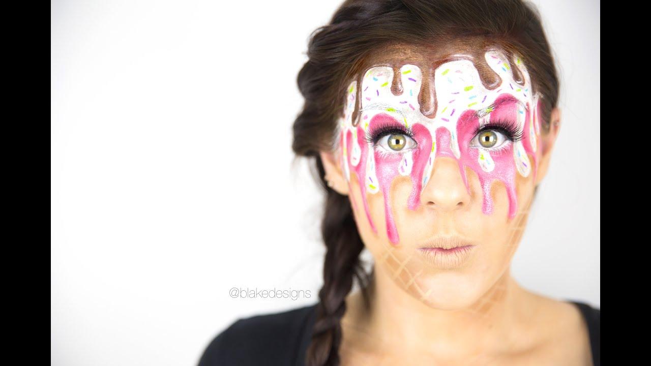 Melting Face Paint