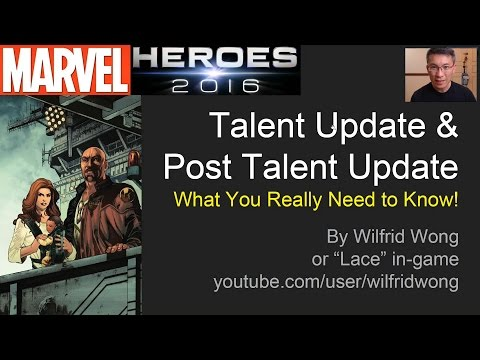 Marvel Heroes Q&A Talent & Post Talent Update - What You Need to Know