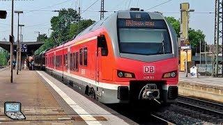 Recklinghausen Hbf mit Haardbahn FLIRT 3, BR 146 mit DoSto, RBH G1206