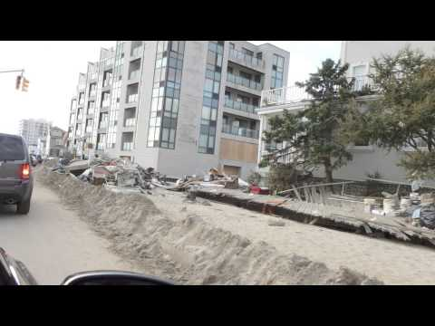 Far Rockaway Queens NY Hurricane Sandy Damage