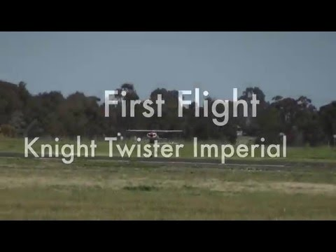 First flight Knight Twister Imperial web