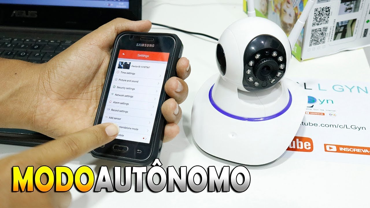 Cmera Ip Wifi Yoosee E Yyp2p No Modo Autnomo Youtube Camera Hd 720p Cctv With Yy2p App And Change To Standalone Mode