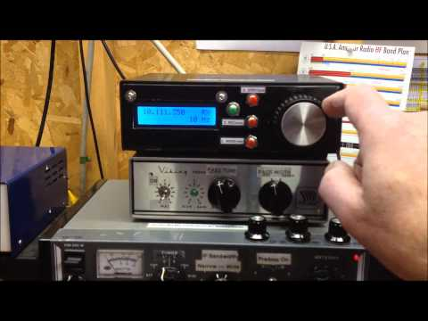 Homebrew Arduino Mega2560 & AD9850 DDS VFO Demonstration