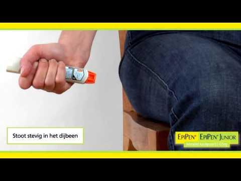 EpiPen Instructie Toedienen
