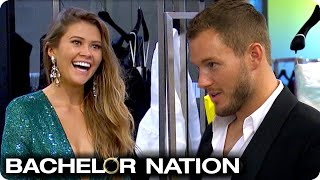 Colton Spoils Caelynn With Shopping Spree Date! | The Bachelor US