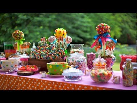 Curso Montagem e Decoração de Festas Infantis - Mesa de Doces