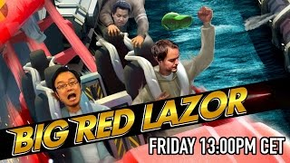 Xbox One party with Tim, TamTu and Viet - Big Red Lazor! (Friday May 29th, 1pm CET)