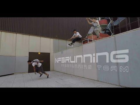 PARKOUR & FREERUNNING CHASE - GoPro POV // NF3