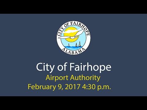 Airport Authority February 9, 2017