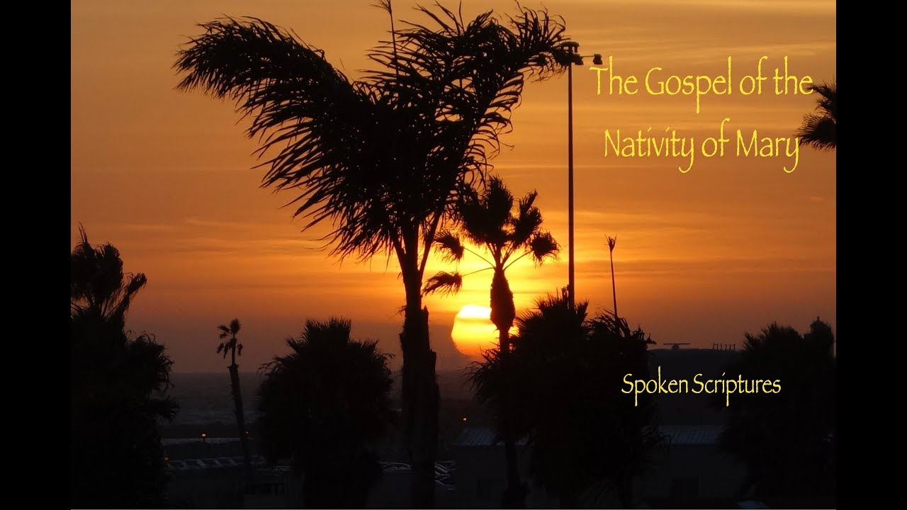 The Gospel of the Nativity of Mary, Female Voice, Audio Book